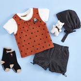 【金安德森】春夏彌月禮盒-星星熊男生款套裝-桔色