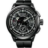 【台南 時代鐘錶 CITIZEN】星辰 100周年限量紀念款 鈦金屬GPS腕錶 CC7005-16F 黑 48mm