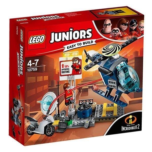 【南紡購物中心】【LEGO 樂高積木】Juniors系列 - 超人特攻隊2 Elastigirl s Rooftop Pursuit10759