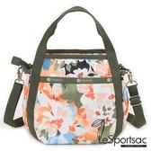 【南紡購物中心】LeSportsac - Standard 隨身小巧手提/兩用包 (綻放藝彩) 8056P F906