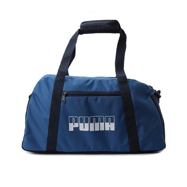 PUMA PLUS SPORTS BAG II 旅行袋 藍 076063-09