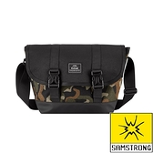 【SAMSTRONG】城市休閒側背包 7L『迷彩』T109 戶外 登山 背包 旅行 通勤 側背包