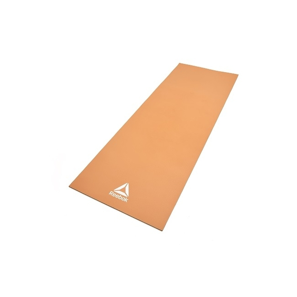 Reebok-專業訓練雙色瑜珈墊(焦糖色/黑)(6mm)