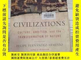 二手書博民逛書店罕見Civilizations:Culture,Ambition