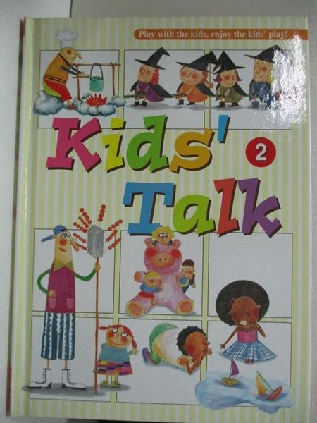 【書寶二手書T3/少年童書_BUN】Kids Talk英語養成計畫2