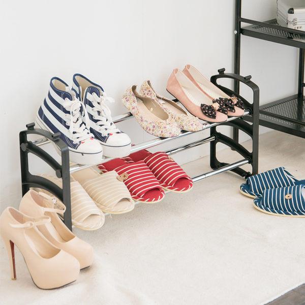 1入組-可伸縮式鞋架【誠田物集】鞋櫃 收納架 置鞋架 置物架 SH32