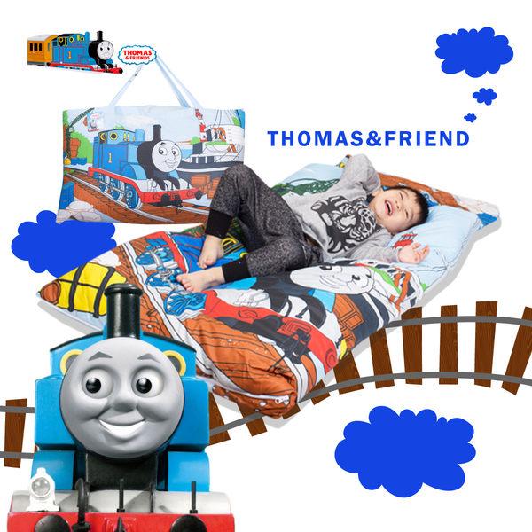 湯瑪士小火車 港口 兒童睡袋 鋪棉冬夏兩用 台灣製 超取限一顆