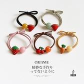 買一送一 可愛水果髮繩髮圈頭飾扎頭髮橡皮筋頭繩髮飾【愛物及屋】