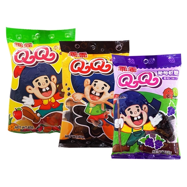 乖乖 QQ軟糖(1包入) 綜合水果/可樂口味/葡萄口味 款式可選【小三美日】