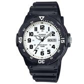 【CASIO】潛水風DIVER LOOK系列錶-數字白面(MRW-200H-7B)