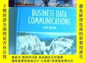 二手書博民逛書店Business罕見Data Communications (5