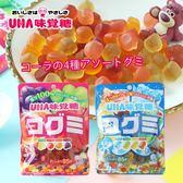 日本 UHA 味覺糖 酷Q彌軟糖 85g 軟糖 水果軟糖 汽水軟糖 糖果 QQ軟糖 日本軟糖