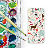 ✿ 3C膜露露 ✿ HTC One E8【麋鹿*水晶硬殼 】手機殼 保護殼 保護套 手機套