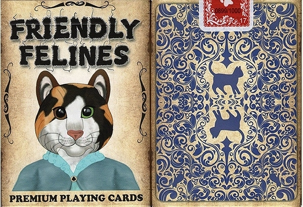 【USPCC 撲克】 S103049185 Friendly Feline Playing Cards 友善貓