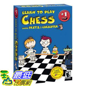 [美國直購 ShopUSA] Learn to Play Chess with Fritz and Chesster by Viva Media $1187