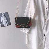 法國小眾包包女新款潮高級感側背包秋冬鍊條斜背包小方包女包 聖誕交換禮物