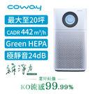 【Coway】綠淨力噴射循環空氣清淨機 AP-1516D (最大可至20坪) 贈 AP-1009加護抗敏型清淨機
