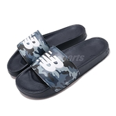 New Balance 拖鞋 NB 200 藍 白 男鞋 女鞋 迷彩 運動拖鞋 涼拖鞋【ACS】 SMF200CAD