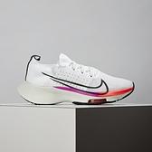 Nike Air Zoom Tempo FK (GS) 大童 白 氣墊 避震 舒適 慢跑鞋 CJ2102-100