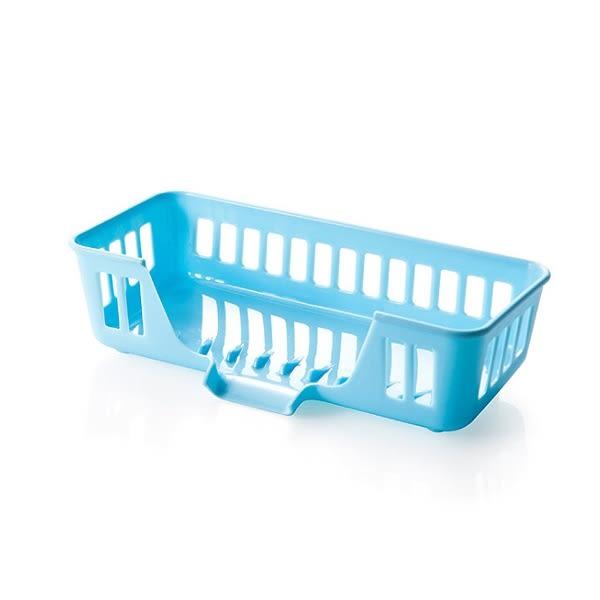 多功能廚房水槽收納籃/瀝水籃(1入)  【小三美日】顏色隨機出貨