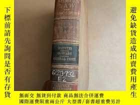 二手書博民逛書店AMERICAN罕見LAW AND PROCEDURE (美國法律與程序)1922年英文原版 447頁Y152