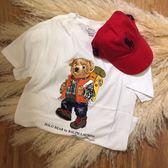 【蟹老闆】Ralph Lauren Polo 登山小熊限量T