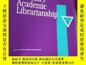 二手書博民逛書店The罕見Journal of Academic Librari