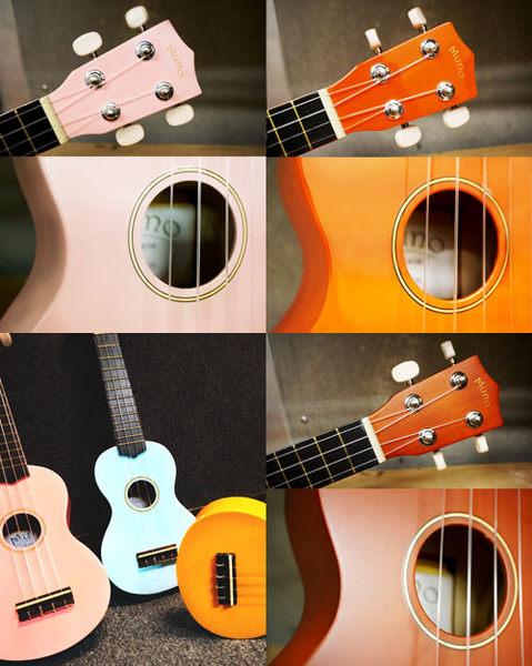 【敦煌樂器】MUNO 21吋 彩色版烏克麗麗 + 附贈琴袋