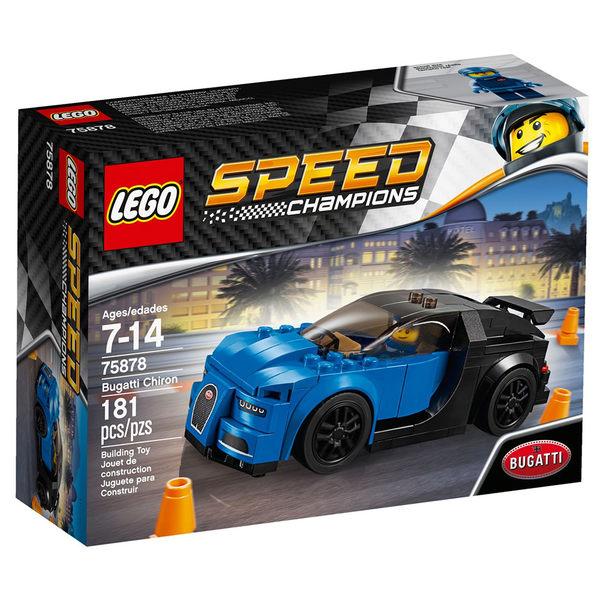 樂高積木 LEGO《 LT75878 》SPEED CHAMPIONS 系列 - Bugatti Chiron╭★ JOYBUS玩具百貨