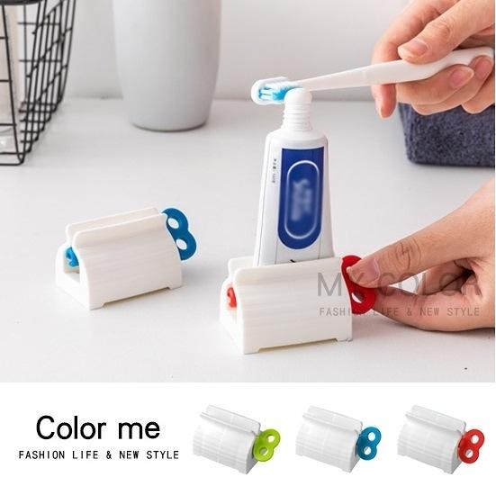擠牙膏器 零食袋封口 封口夾 擠壓器 密封夾 洗面乳 創意軟管擠壓器【K083】color me 旗艦店