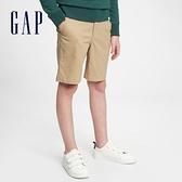 Gap男童 可愛直筒休閒褲 682043-卡其色