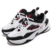 Nike 休閒鞋 M2K Tekno 白 黑 紅 老爹鞋 復古款 男鞋 【PUMP306】 AV4789-104