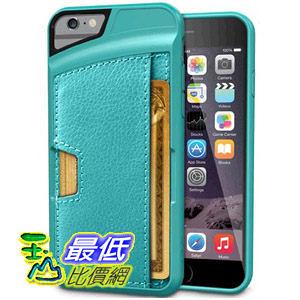 [ 美國直購] 進口 高質感  iPhone 6 Wallet Case - Q Card Case for iPhone 6 (4.7) by CM4  iphone6 皮夾手機殼 湖水綠