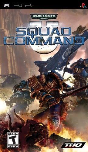 PSP Warhammer 40k: Squad Command 戰鎚 40K:小隊指令(美版代購)