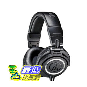 【104美國直購】鐵三角 Audio-Technica ATH-M50x Professional Studio Monitor Headphones 耳罩式耳機 $8006