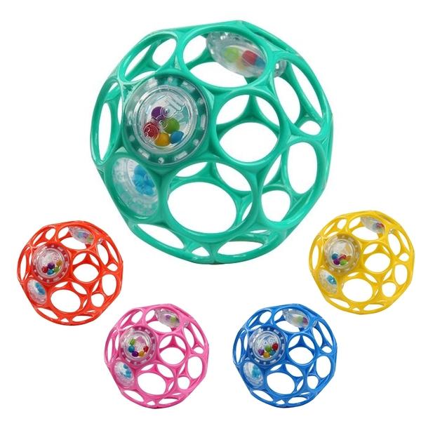 Oball 新沙沙洞動球 Kids II 4吋沙沙洞洞球 搖鈴 安撫玩具 4869 益智玩具
