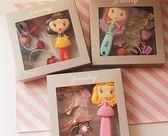 公主系列美人魚長髮公主按摩梳子髮繩飾品禮盒套裝禮物 時尚潮流
