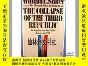 二手書博民逛書店【罕見】1969年 The Collapse of the Th