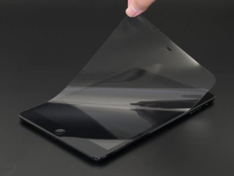【漢博商城】POWER SUPPORT iPad mini 3/iPad mini Retina/iPad mini 亮面保護膜裸片