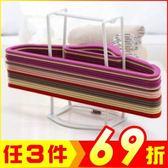 衣架收納架 顏色隨機【AF07203】i-Style居家生活