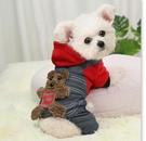 寵物衣服 狗狗衣服春裝棉衣寵物用品泰迪比熊博美加厚新年四腳冬季【快速出貨八折下殺】