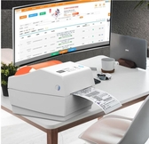 快麥KM118電子面單打印機高清藍芽通用不幹膠標簽機條碼二維碼熱敏紙   蘑菇街小屋 ATF