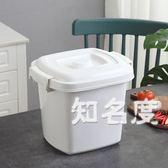 米桶家用收納防潮10 公斤25 公斤米缸20 公斤密封防蟲15 公斤面粉裝米桶儲米箱T 3 色