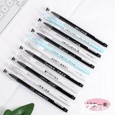 中性筆批發韓國小清新可愛創意萌簡約復古學生用黑簽字筆0.38水筆