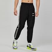 Nike AS M NSW SWOOSH PANT WVN 男子 黑色 雙勾 防風 長褲 CJ4878-010
