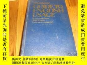 二手書博民逛書店LONGMAN罕見GUIDETO ENGLISH USAGE 精