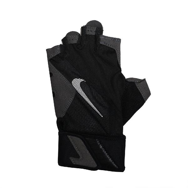 Nike 運動手套 Premium Training Gloves 黑 白 男款 健身 訓練 運動休閒【ACS】 NLGC1-083