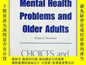 二手書博民逛書店Mental罕見Health Problems and Older Adults-心理健康問題與老年人Y361