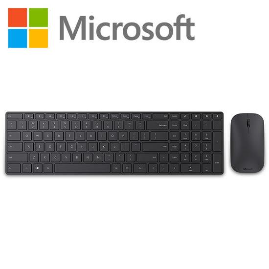 [哈GAME族]免運費 可刷卡 Microsoft 設計師 藍芽鍵盤滑鼠組 Win8/win10 Bluetooth 藍牙 中文鍵盤