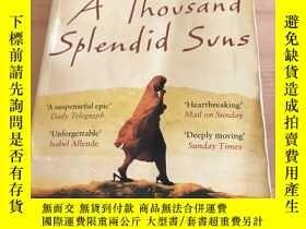 二手書博民逛書店A罕見thousand splendid sunY271818